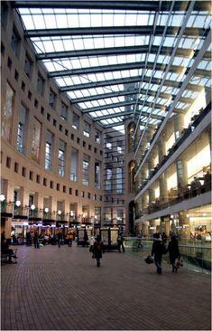 Los 37.000 metros cuadrados de superficie de la Biblioteca Pública de Vancouver están iluminados mayoritariamente a base de luz natural y su azotea posee un techo verde (o techo vivo) características atractivas desde el punto de vista de sustentabilidad.
