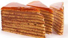 Super recept na tú najlepšiu domácu dobošovú tortu… Czech Recipes, Vanilla Cake, Breakfast, Food, Cakes, Kitchens, Kuchen, Morning Coffee, Cake Makers
