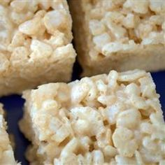 Dulce de arroz inflado y malvavisco @ allrecipes.com.mx