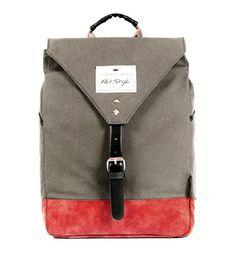 kmbuy - Unique Vintage Style Unisex Fashion Casual School Travel Shoulder Backpack bag with 15.6'' laptop Compartment / 40cm*29cm*12cm (grey) hotstyle http://www.amazon.com/dp/B00II261YQ/ref=cm_sw_r_pi_dp_0WQlub1ZGFC2E