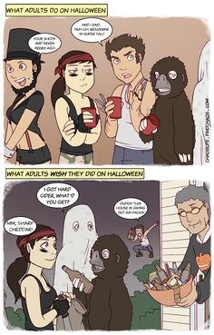 Adult Halloween from Chaos Life