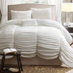 The Avila duvet cover set makes an elegant statement in any bedroom. jcp.com