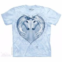 Camiseta Corazón De Unicornio