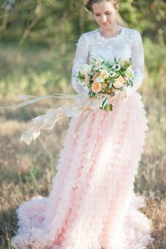 Soft and romantic with a dash of personality California bride inspired fashion shoot for a bride and her bridesmaids by Rahel Menig Photography. Wedding Attire, Wedding Day, Wedding Dresses, Bridal Fashion, Fashion Shoot, Maid Of Honor, Bridal Style, Bridesmaids, Tulle