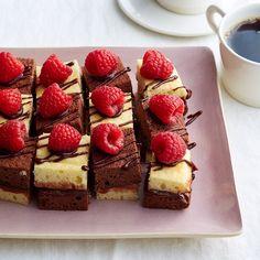 Chocolate-Raspberry Petit Fours Recipe | Weight Watchers