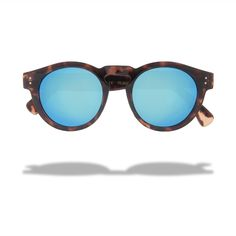 The Best Round Mirrored Sunglasses For Summer - Freeway Interstate 5 Sunglasses, $79.95; at Local Supply