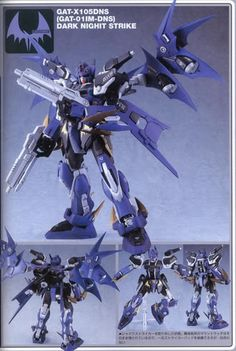 Motoo Osumi Daek Knight Strike Gundam