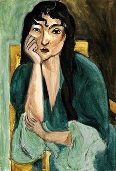 Meditation (Portrait of Laurette), 1916–17, by Henri Matisse