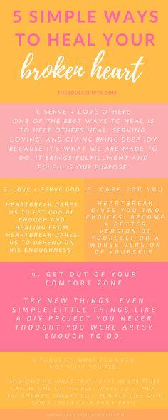 Bible verses for breakups and broken hearts... Break up medicine ...