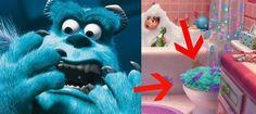 Boo no puede volver a ver a Sulley porque fue capturado y transformado en una funda de tapa de retrete. ¡¡Randall tenia razón!! Lo sentimos mucho por Boo : ´(