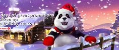 Royal Panda's December calendar, 31 days of promotions