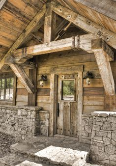 Big Wood Timber Frames – Gull Lake Retreat