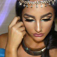 Princess Jasmine Makeup