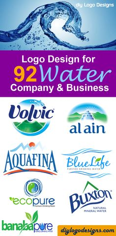 92+ Logo Design for Water Company and Business - See Full collection.