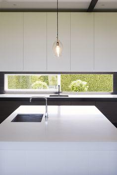 Von Sturmer - Bringing in the 'outside' Modern Kitchen Design, Windows, Interior Design, Simple, Kitchens, House Ideas, Goals, Home Decor, Ideas