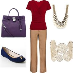 Fall Colors Work Outfit - Polyvore