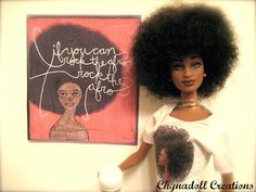 Natural Barbie by Chynadoll Creations
