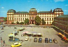 Memoribilia Darmstadt '65 Schloss und Marktplatz