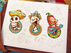 Characters by Mike | Creative Mints