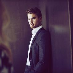 Theo James in Hugo Boss The Scent Ad