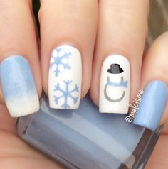 Ready to decorate your nails for the Christmas Holiday? Christmas Nail Art Designs Right Here! Xmas party ideas for your nails. Be the talk of the Holiday party with your holiday nail designs. Nail Art Noel, Xmas Nail Art, Cute Christmas Nails, Holiday Nail Art, Xmas Nails, Christmas Nail Art Designs, Winter Nail Art, Winter Nail Designs, Toe Nail Designs