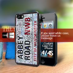 Abbey Road The beatles Iphone 4 Case