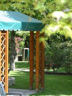 Gazebo And garden. Bed And breakfast Al Giardino Venice Italy.