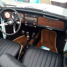 Gustavo Ramirez, from Miami, Florida. His 1969 L50B (48) Diamond Blue VW Convertible, 1500cc stock motor. He's had it since 1996. It's got a bunch of original Empy accessories: 5.5 orig…