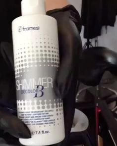 framesi (@framesiusa): Christina Kreitel demonstrates how to add dimension to dark hair using Decolor B Shimmer