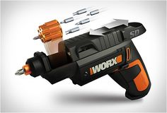 One for the handyman...If you´re an avid tool guru you´ll love this. The WORX WX254L SD Semi-Automatic Power Screw Driver features a gun-lik...