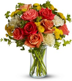 Citrus Kissed summer bouquet