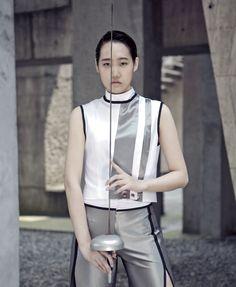 鋒韻 Fencing collection 2016-17 S/S  Designer:HEFI WU(吳佳樺)  Photographer:找象攝影室
