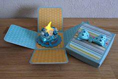 Cards en Scrap Challengeblog: Workshop 121: T-licht verjaardagstaart met doosje