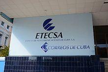 ETECSA – Wikipedia Tech Companies, Company Logo, Logos, Santiago De Cuba, Market Environment, Internet Usage, Cellular Network, Interactive Map, Cuba