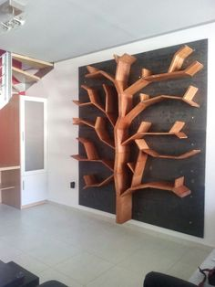 Spectacular DIY Farmhouse Shelves Spectacular DIY Farmhouse Shelves Related posts: DIY Modern Farmhouse Murphy Bed with Bookcase Cardboard furniture diy organizers book shelves 69 Ideas 60 Easy DIY Farmhouse Decor Ideas Trendy Diy Box Shelves Cardboard Tree Bookshelf, Bookshelf Design, Book Shelves, Bookcase, Image Deco, Creative Bookshelves, Diy Regal, Pinterest Home, Diy Woodworking