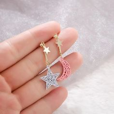 2020 New fashion Korean Hollow woven multicolor Star Moon Modelling Dr – Touchy Style