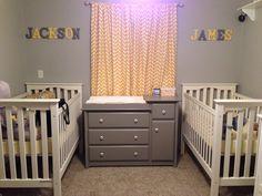Twin boys nursery