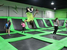 indoor trampoline gym for sale