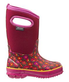 Another great find on #zulily! Fuchsia Classic Sweet Pea Boot #zulilyfinds