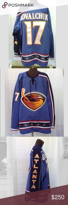 b1cfcce3f8d Kovalchuk 17 Atlanta Thrashers NHL Jersey #17 Ilya Kovalchuk NHL Atlanta  Thrashers Hockey Officially Licensed