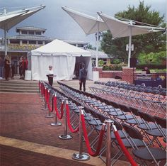 We don't let the rain stop us   Practicing #FashionNoVAFFC model walk through   See you at 11:30