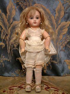 """Beyond Incredible 12.5"""" EJ Jumeau Size 4 Antique French Bebe Doll from kathylibratysantiques on Ruby Lane"""