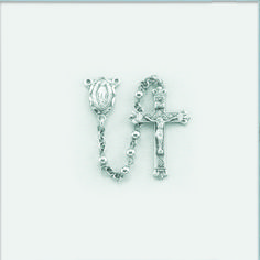 Regina's Catholic Gifts - Sterling Silver Plain Round Rosary-3MM, $115.00 (http://www.reginascatholicgifts.com/sterling-silver-plain-round-rosary-3mm/)