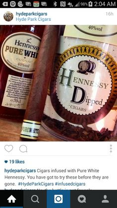 Hennessy Dipped Cigars