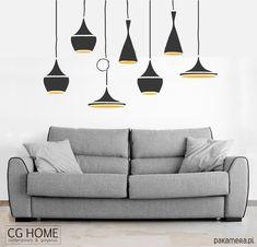 dodatki - inne-LAMPY na ścianę naklejki LAMPA