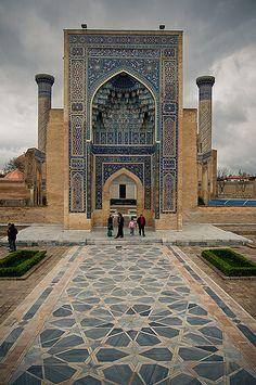 Gur Emir Mausoleum ~ Samarkand ~ Uzbekistan