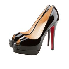 Can't go wrong with a pair of Christian Louboutin classic black pumps