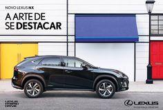 Campanha do Lexus NX 300h inspirada na arte e design