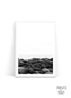 Landscape print Photography Art Stone Print by PrintsMiuusStudio