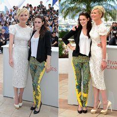 """Kristen Stewart e Kirsten Dunst desfilam looks em coletiva de imprensa de """"Na Estrada"""". Veja mais em: http://glo.bo/JJSKwW"""